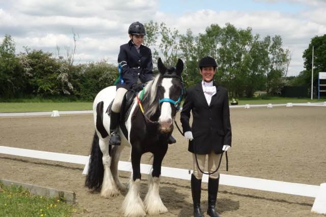 Christina's Hickstead Success